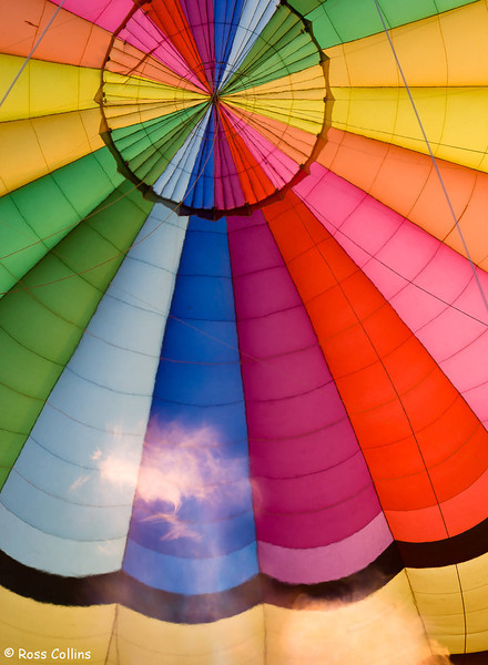 Ballooning  over Mildura 2006