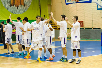 Images from BCMU Pitesti vs BC Tg Mures basketball match