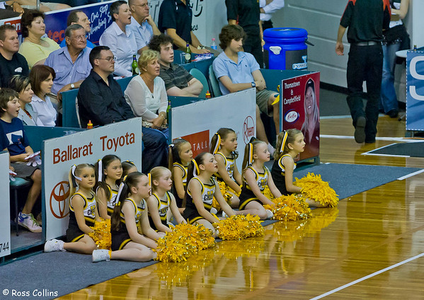 Tigers vs. Breakers, State Netball and Hockey Centre, Melbourne, 27 October 2007