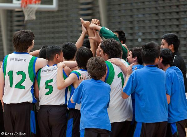 U15 National Championship, ASB Sports Centre, Wellington, 10 October 2012