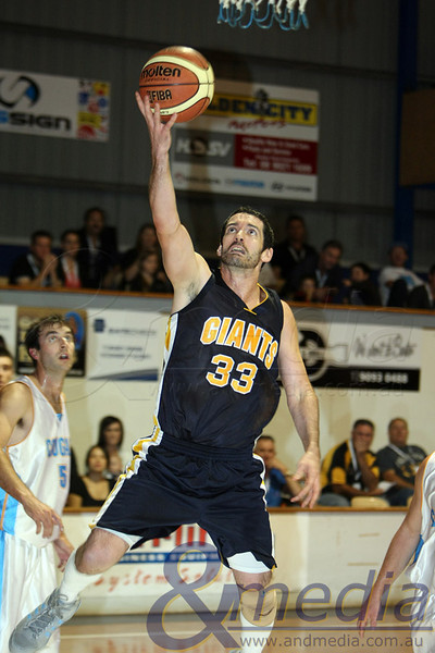 250312kalgiants4supp SBL - Goldfields Giants vs Cockburn Cougars Giants' import guard Ty Harrelson coasts in for the layup. Photo: ANDMEDIA