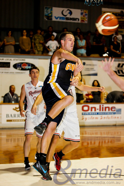 WA State Basketball League 2013: Goldfields Giants vs Perth Redbacks - Mens Round One: 16/03/2013