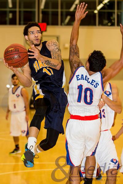 2014 WA State Basketball League: Pre-Season Blitz - Goldfields Giants vs East Perth Eagles