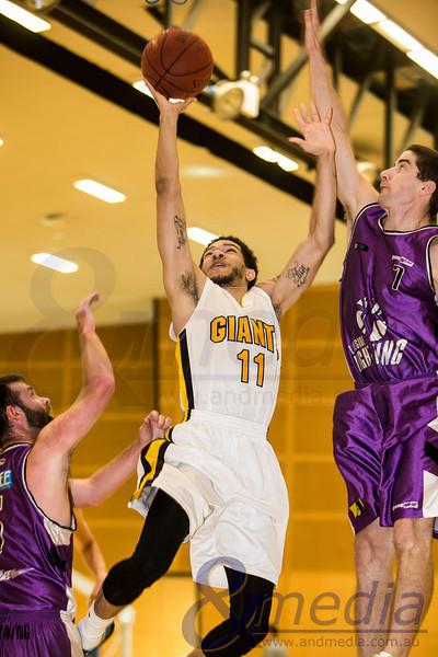 2014 WA State Basketball League: Pre-Season Blitz - Goldfields Giants vs Lakeside Lightning