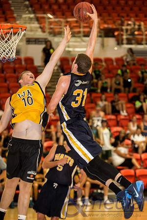 2014 WA State Basketball League: Pre-Season Blitz - Goldfields Giants vs WA U18 Country