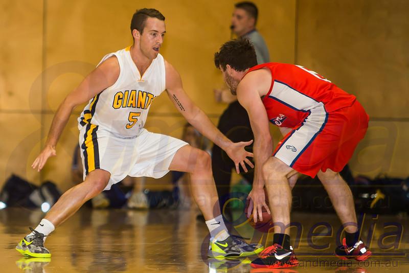 2014 WA State Basketball League: Pre-Season Blitz - Goldfields Giants vs South West Slammers