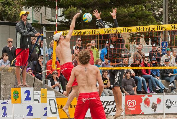New Zealand Beach Volleyball Tour, 2nd Leg, Oriental Bay, Wellington, 11 January 2009