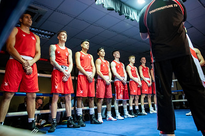 28th Nov  2019, England vs Scotland, Amateur Boxing, Cannock Premier Suite