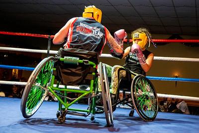 28th Nov  2019, England vs Scotland, Amateur Boxing, Cannock Premier Suite