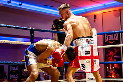 25th April 2019, Kyle Williams vs Kash Farooq, British Bantamweight Title, Radisson Blu, Glasgow25th April 2019, Kyle Williams vs Kash Farooq, British Bantamweight Title, Radisson Blu, Glasgow