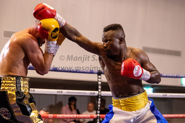 9th June 2018, Boxing, Emerging Stars, BCB Promotions