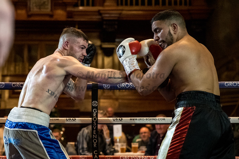 8th December 2018, James Beech Jr Fight Night, Walsall Town Hall