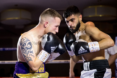 9th Dec 2018, Ijaz Ahmend vs Connor Blackshaw, Midlands Area Flyweight Title, Holiday Inn, Birmingham 9th Dec 2018, Lord of the Flys, Holiday Inn