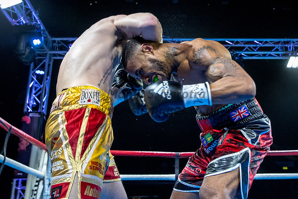 'Now or Never', GENTING Arena, 24th March 2018, IBO Continental Middleweight Title