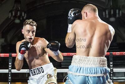 23rd Sept 2018, Tyler Denny vs Reece Cartwright FightNight Walsall Town Hall, Birmingham