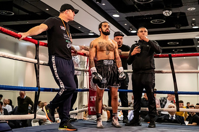 26th Oct 2019, Midlands Area Welterweight Title, Levi Ferguson vs Kaisee Benjamin, Holte Suite, Aston