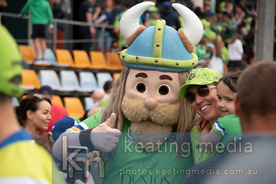 Canberra Raiders post grand final welcome in Canberra