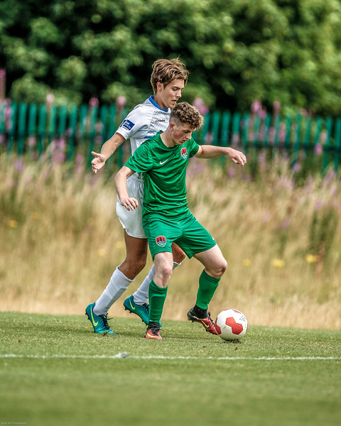 EEjob 22/07/2017 SPORT Soccer Cork City U17 v UCD                       Picture: Andy Jay