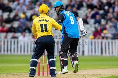 17th August 2018, Birmingham Bears vs Worcestershire Rapids, T20 Vitality Blast