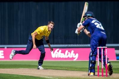 8th June 2018, T20 Blast, Birmingham Bears vs Yorkshire Vikings, Edgbaston