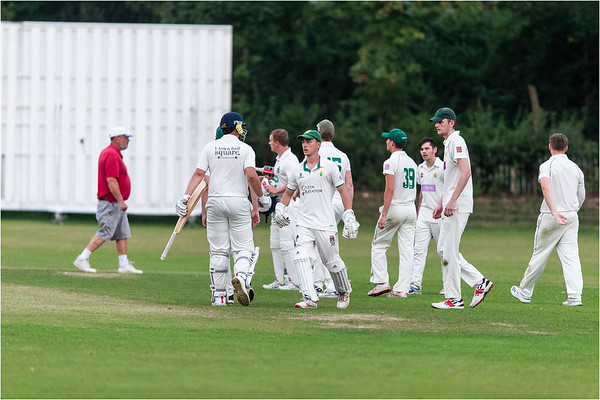 Images from the Vale of Glamorgan T20 Cricket match played between Cowbridge CC and Creigau CC on Wednesday the 12th of August, 2020.