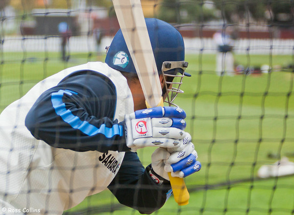 India in the Nets, Basin Reserve, Wellington, 1/2 April 2009