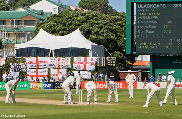New Zealand vs England, 2nd Test, Basin Reserve, Wellington, 13-17 March 2008