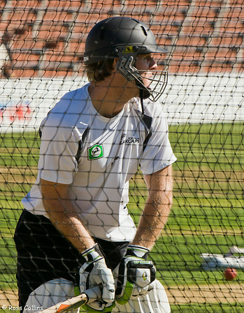Black Caps in the Nets, Basin Reserve, Wellington, 12 March 2008