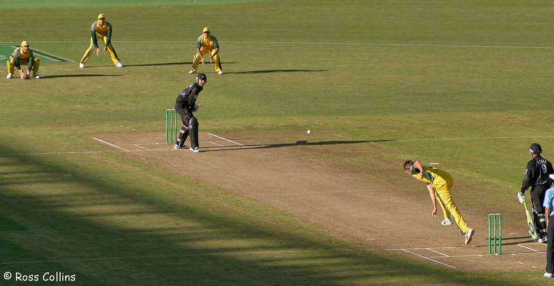 New Zealand vs Australia, ODI, Westpac Stadium, Wellington, 19 February 2005