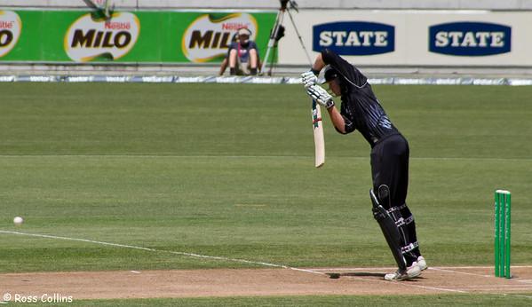 New Zealand vs Sri Lanka, ODI, Westpac Stadium, Wellington, 6 January 2006