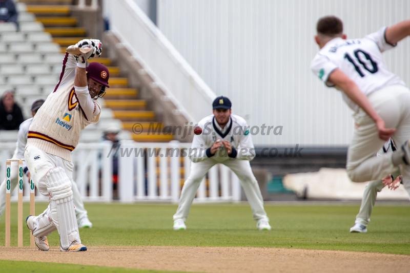 12th May 2018, Warwickshire vs Northamptonshire, County Championship Div 2, Day 2, Edgbaston, Birmingham