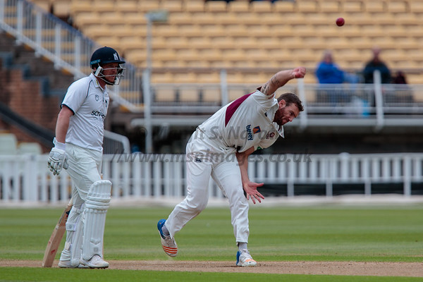 12th May 2018, Warwickshire vs Northamptonshire, County Championship Div 2, Day 2, Edgbaston, Birmingham