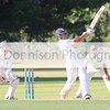 MBFP-06-08-2016-028 Bury v Sudbury Cricket Adam Mansfield goes on attack for Sudbury.  Bury Free Press 06.08.2016