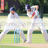 MBFP-06-08-2016-025 Bury v Sudbury Cricket Adam Mansfield goes on attack for Sudbury.  Bury Free Press 06.08.2016