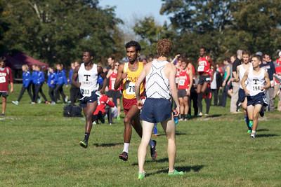 CMS XC at Conn College Invitational,