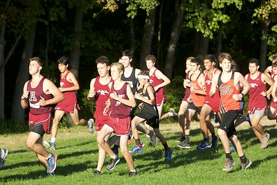 ARHS XC v. S Hadley, Central, ARHS home course. 2017
