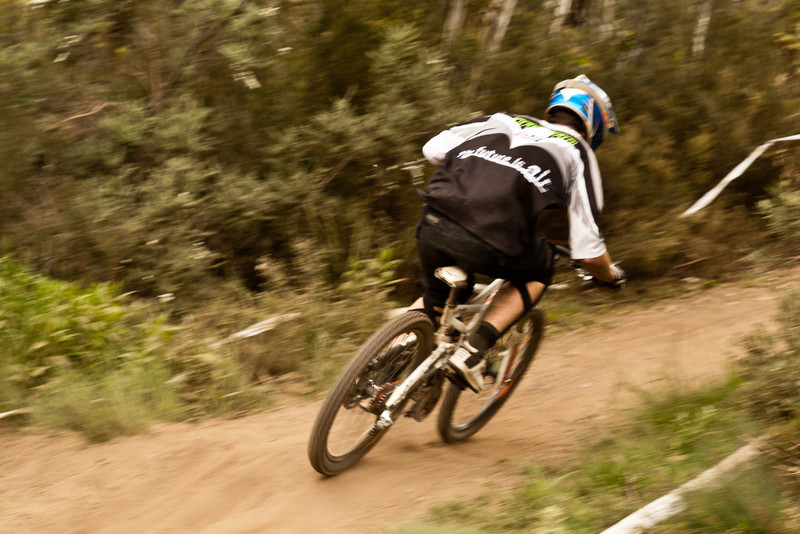 Michael Dargan<br /> Seeding of Round 1 of the 2011 MTB Australia Gravity Cup, Thredbo, NSW, Australia<br /> <br /> All photos can be  purchased. Contact me through Flickr Mail for more information.