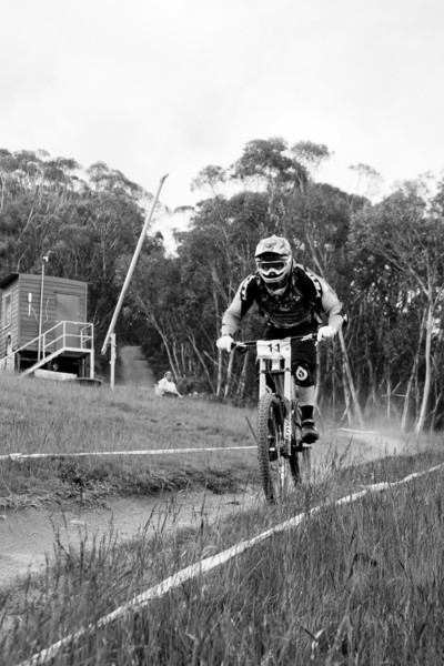 Jared Graves<br /> Seeding of Round 1 of the 2011 MTB Australia Gravity Cup, Thredbo, NSW, Australia<br /> <br /> All photos can be  purchased. Contact me through Flickr Mail for more information.