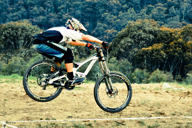 Jump<br /> Seeding of Round 1 of the 2011 MTB Australia Gravity Cup, Thredbo, NSW, Australia<br /> <br /> All photos can be  purchased. Contact me through Flickr Mail for more information.