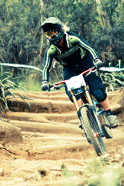 Tracey Hannah<br /> Seeding of Round 1 of the 2011 MTB Australia Gravity Cup, Thredbo, NSW, Australia<br /> <br /> All photos can be  purchased. Contact me through Flickr Mail for more information.