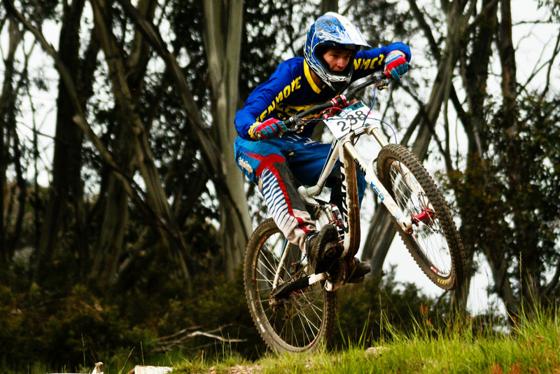 Nicholas Johnson<br /> Seeding of Round 1 of the 2011 MTB Australia Gravity Cup, Thredbo, NSW, Australia<br /> <br /> All photos can be  purchased. Contact me through Flickr Mail for more information.