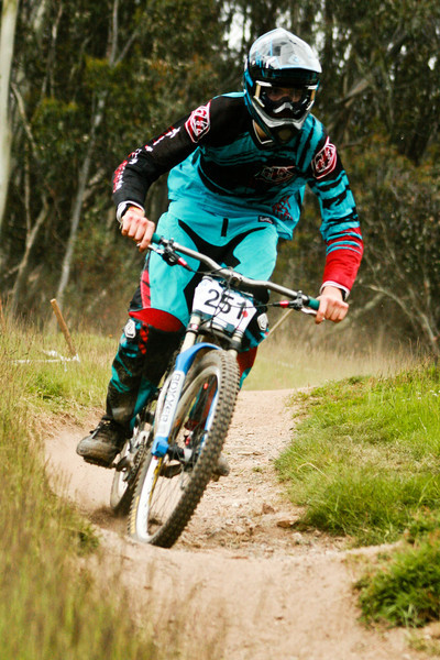 Luke SImpson<br /> Seeding of Round 1 of the 2011 MTB Australia Gravity Cup, Thredbo, NSW, Australia<br /> <br /> All photos can be  purchased. Contact me through Flickr Mail for more information.