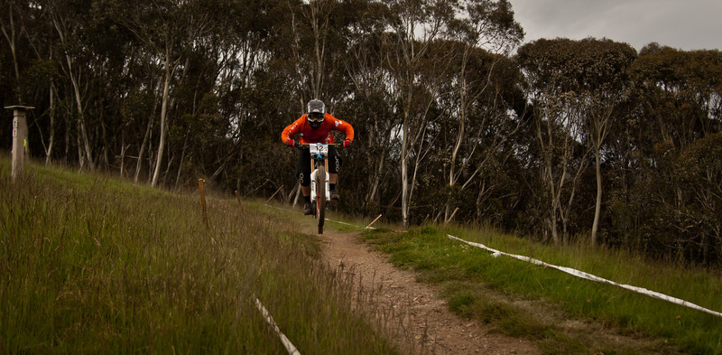 Jesse Bear<br /> Seeding of Round 1 of the 2011 MTB Australia Gravity Cup, Thredbo, NSW, Australia<br /> <br /> All photos can be  purchased. Contact me through Flickr Mail for more information.
