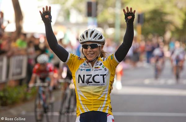 Women's Tour of New Zealand 2010, Wellington Criterium, 28 February 2010