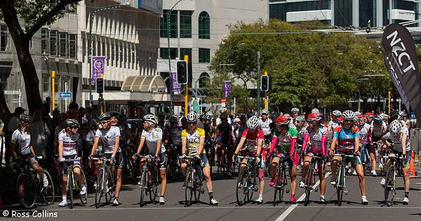 Women's Tour of New Zealand 2011, Wellington Criterium, 27 February 2011