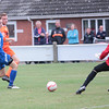 MDEP-10-09-2016-099 Diss Town FC v Team Bury. FA Vase, Sam Page puts it past the keeper to make it 3-0