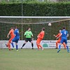 MDEP-10-09-2016-098 Diss Town FC v Team Bury. FA Vase, header off the line by Sam Wenham saves Diss