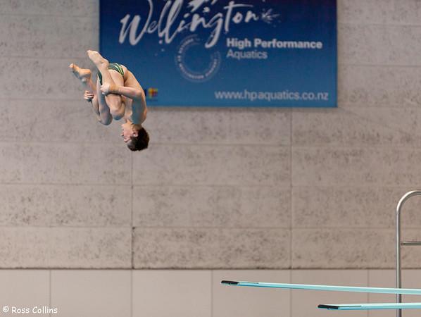 Oceania Olympic 3 Metre Springboard Diving Qualifier, Wellington, 21 August 2011