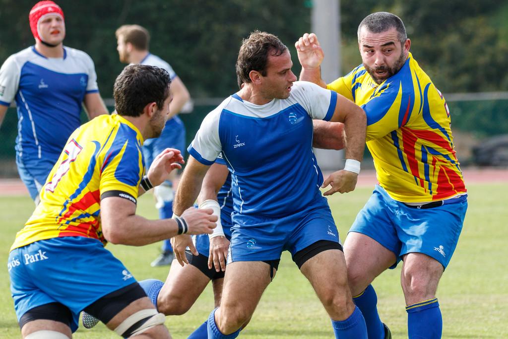 Israel Andora Rugby  Match 8MAR2017