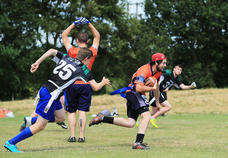 Northampton Titans league tournament at Caroline Chisholm School on Saturday 8th July 2017